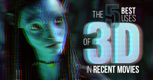Best 3D Uses in Recent Movies Banner