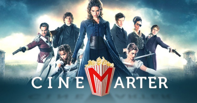 Pride and Prejudice and Zombies CineMarter Banner