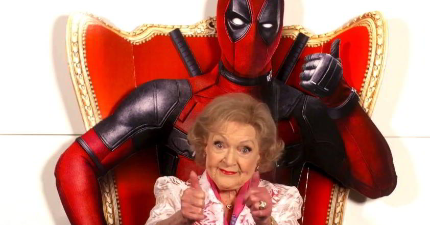 Betty White on Deadpool