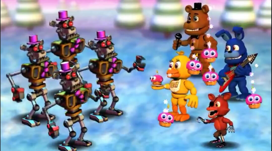 FNaF World: Unlock Everything Cheat Code | Walkthroughs