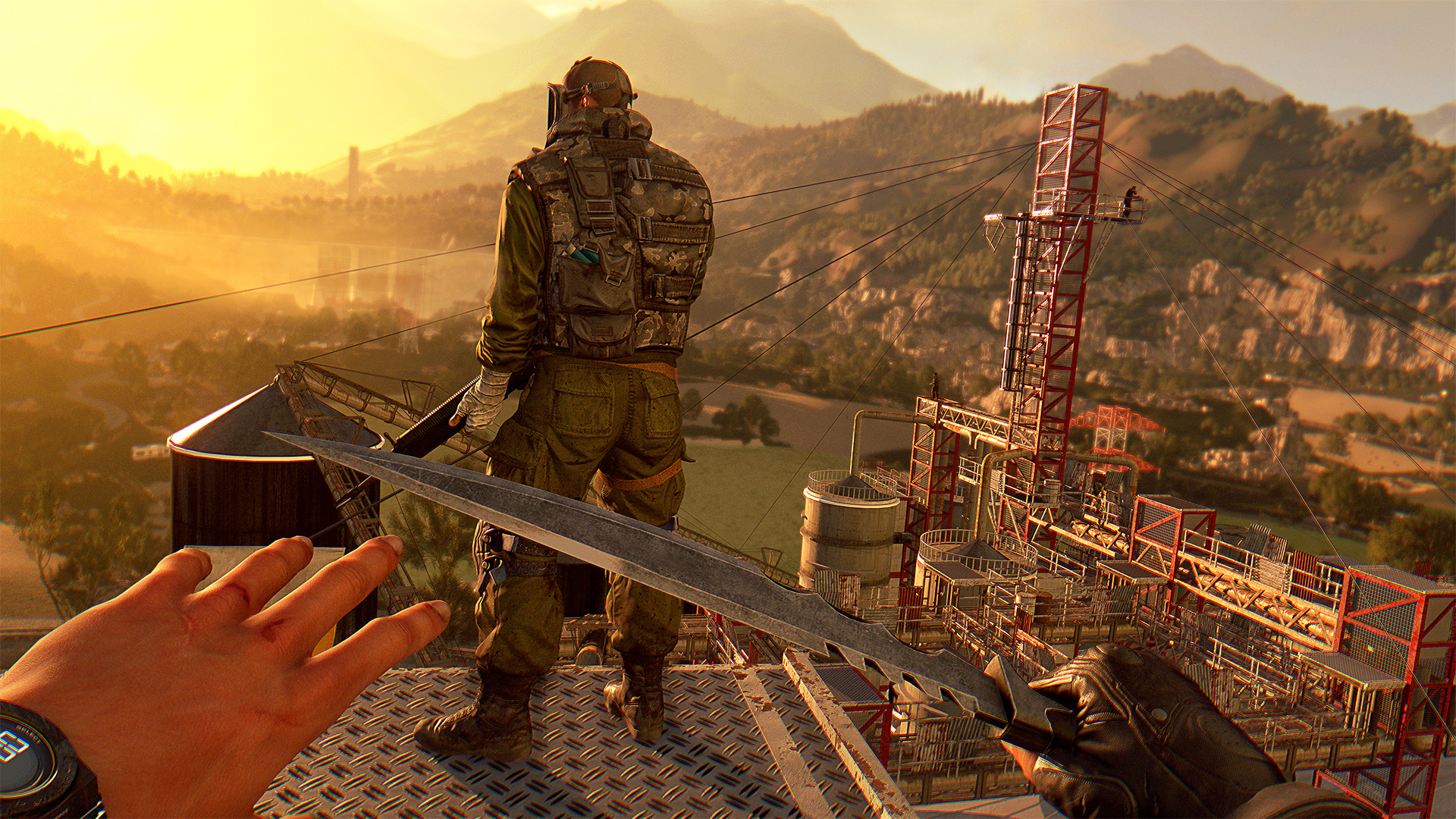 Dying Light: The Following - Hacking Tool & Military Keycard