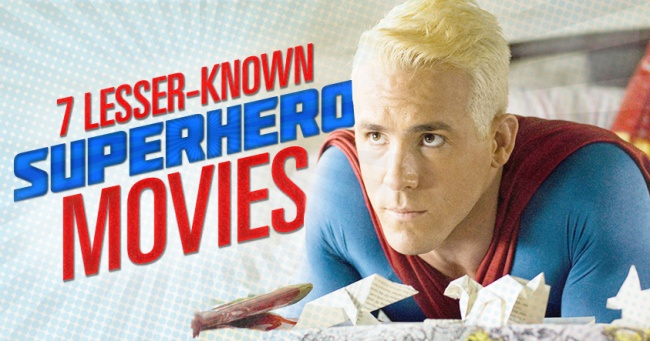 7 Obscure Superhero Movies Banner
