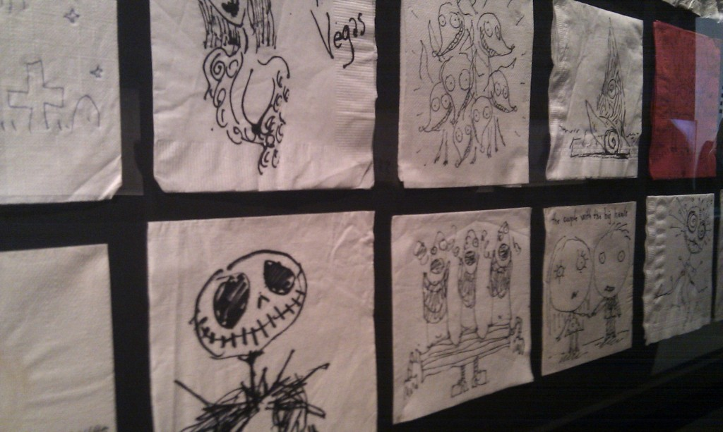 Tim Burton S Napkin Art Compiled Into A Coffee Table Book The Escapist