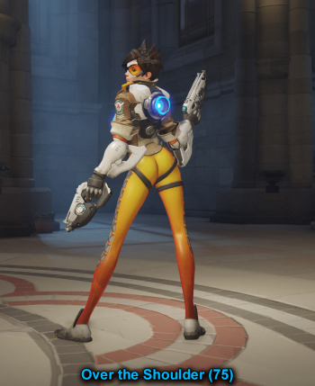 tracer over the shoulder