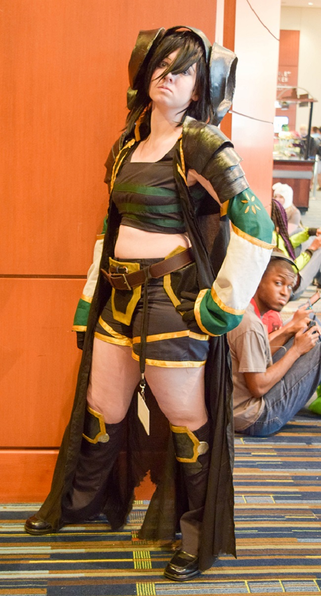 Toph from Avatar (maybe?)