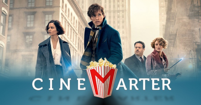 Fantastic Beasts and Where to Find Them CineMarter Banner