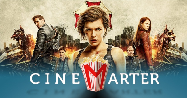 Resident Evil Final CineMarter Banner