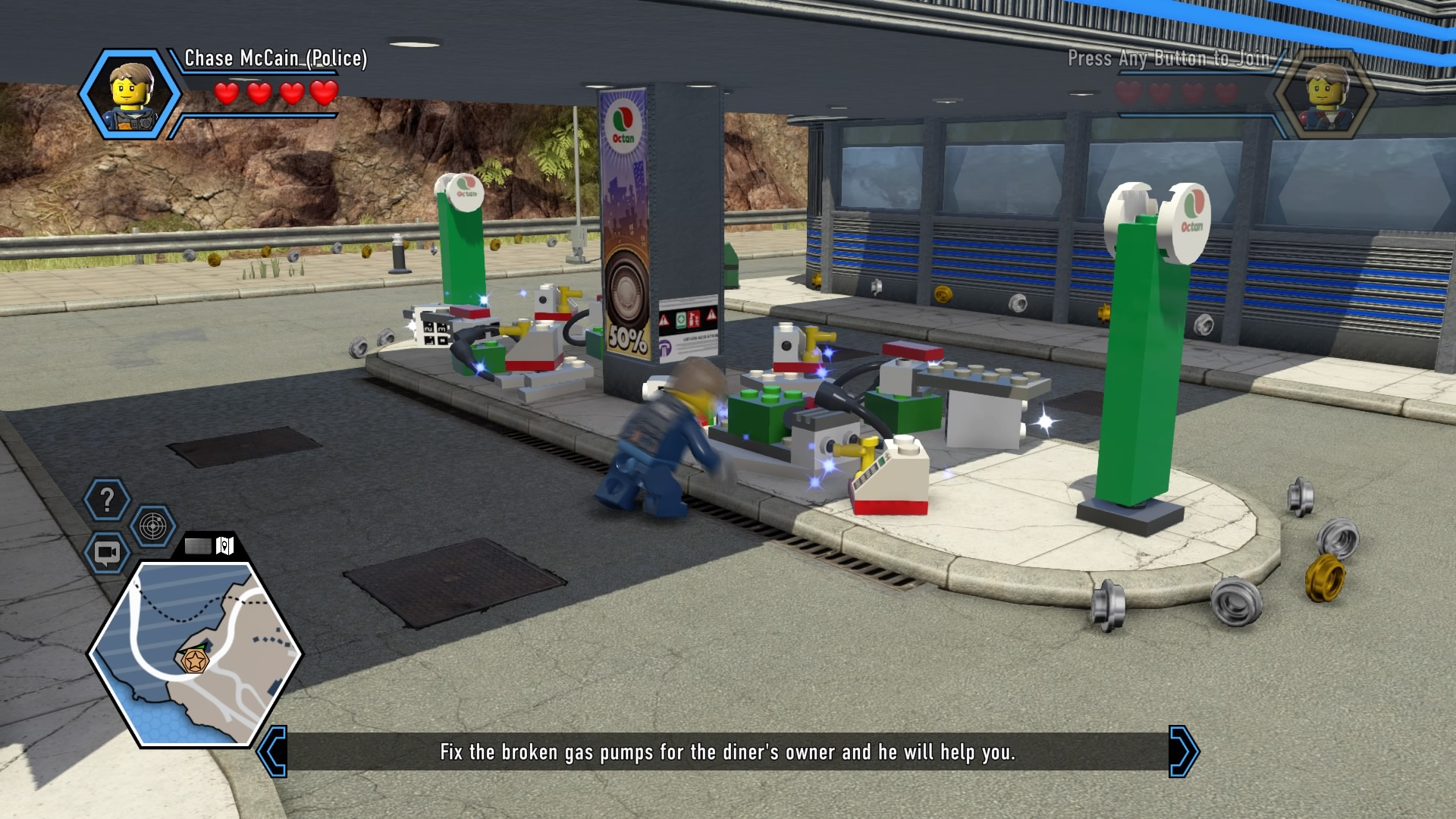 Lego City Undercover Complete Walkthrough Chapter 2 Guide Walkthroughs The Escapist
