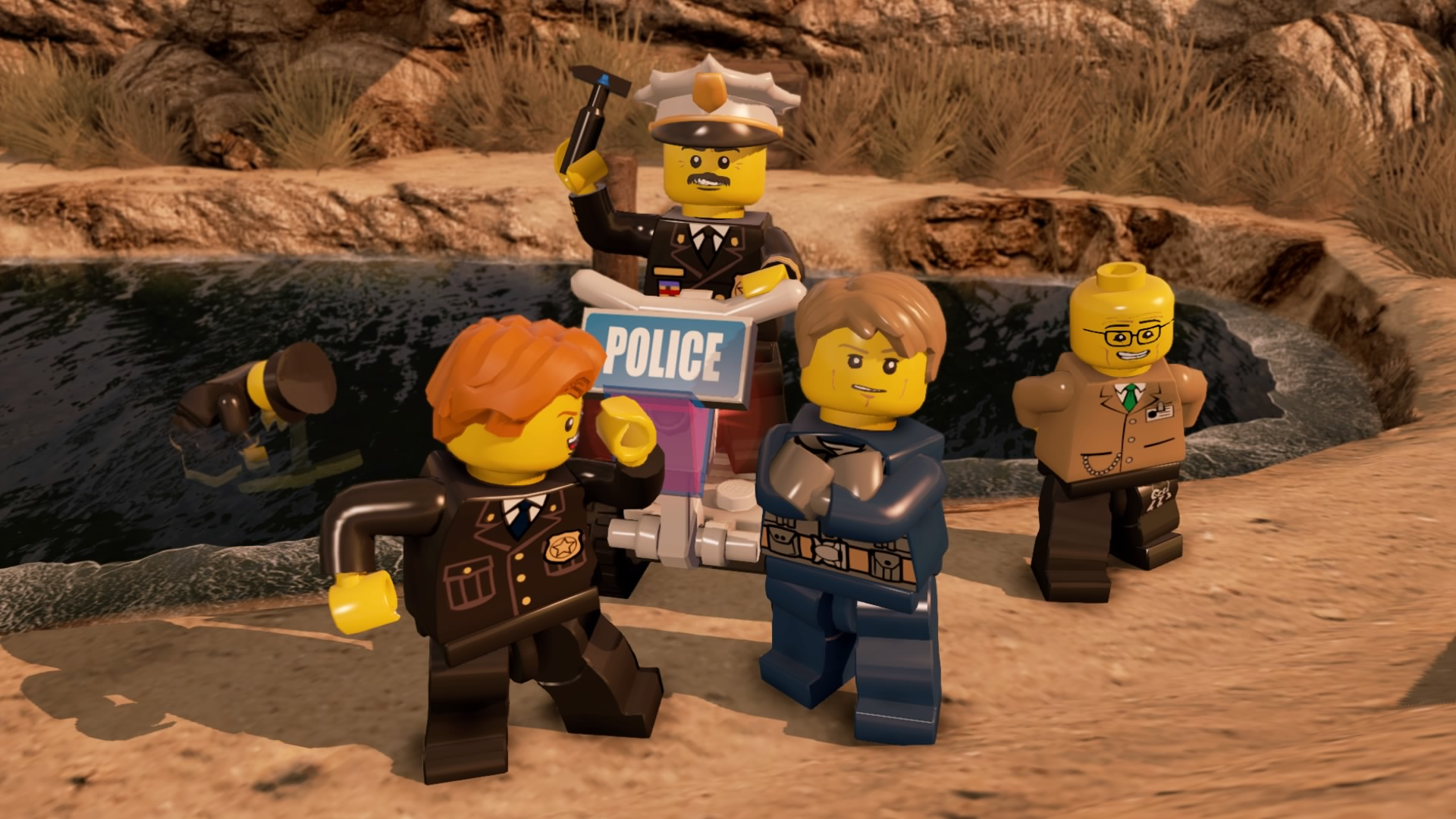 Lego City Undercover Walkthrough Chapter 3 Guide Albatross Prison Island Walkthroughs The Escapist