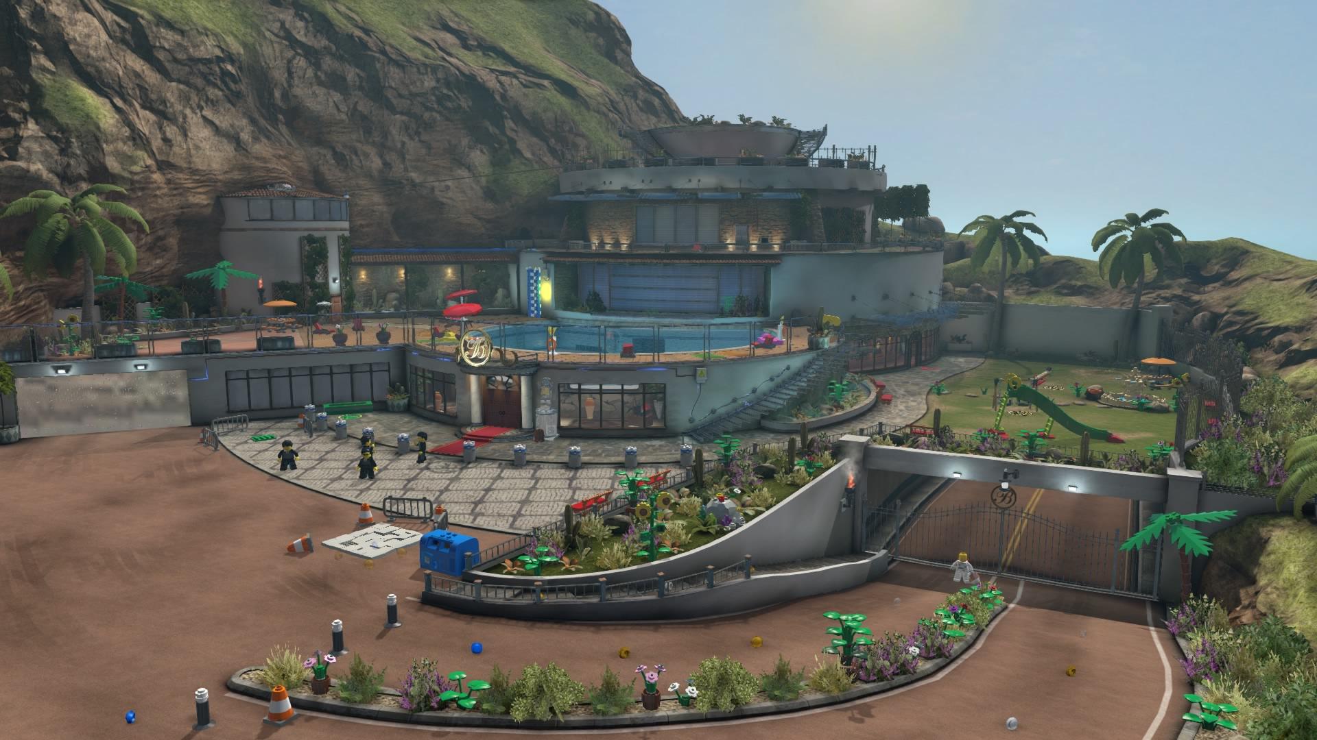 LEGO City Undercover Walkthrough Chapter Mansion Investigation - Mansion design games