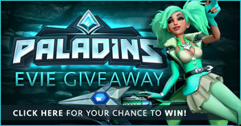 Paladins Evie Skin Giveaway Contest | The Escapist