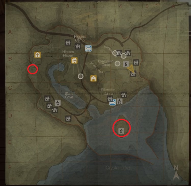 Friday The 13th The Game All Jason S Cabin Locations