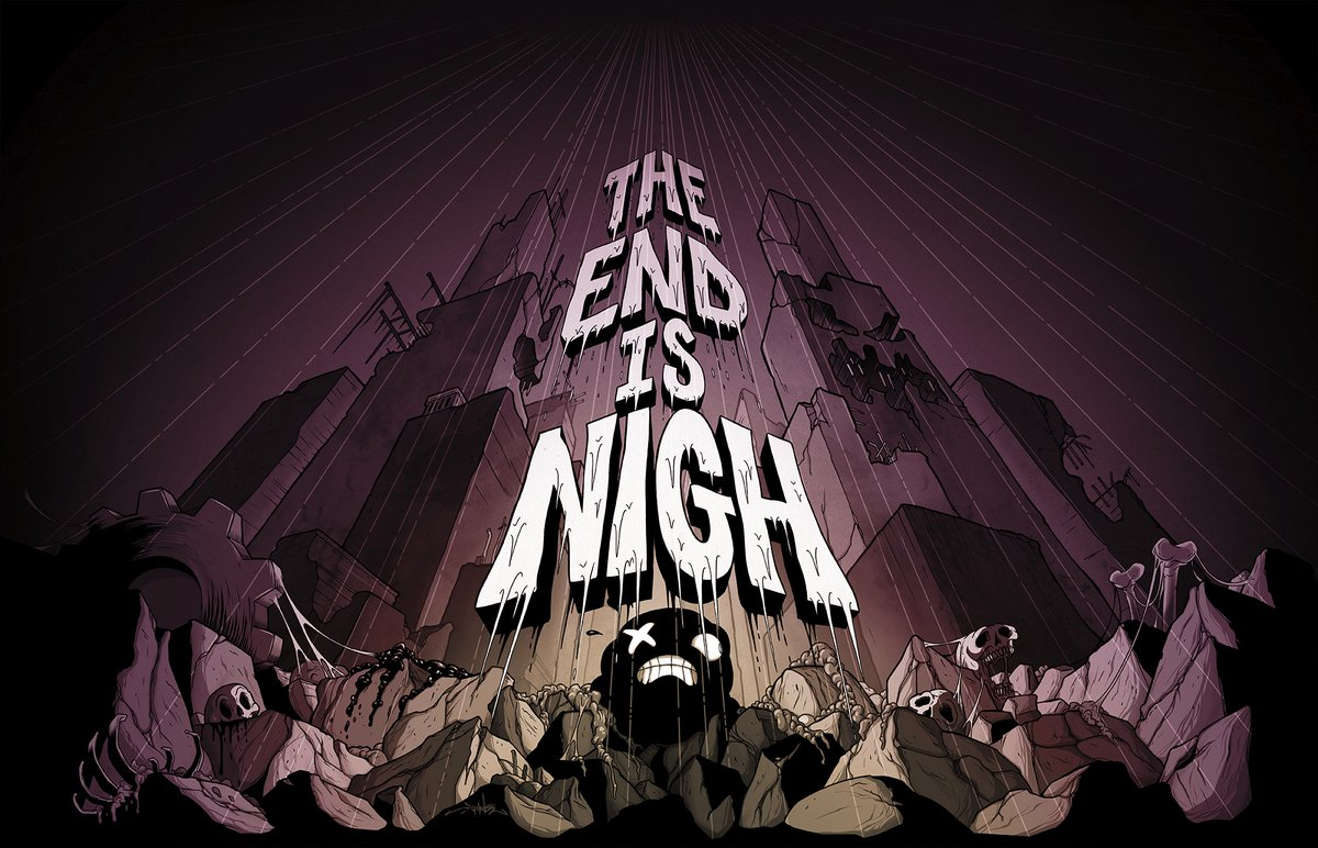 The End Is Night Logo