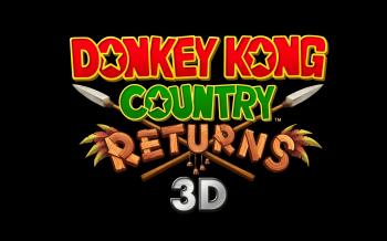 Donkey Kong Country Returns 3D Logo