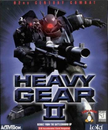 Heavy Gear II cover