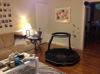 Virtuix Omni-Directional Treamill Living Room