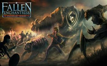 Fallen Enchantress Legendary Heroes Logo