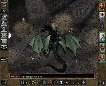 Baldurs Gate 2 screen