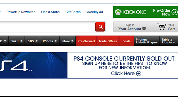 PS4 Sold Out