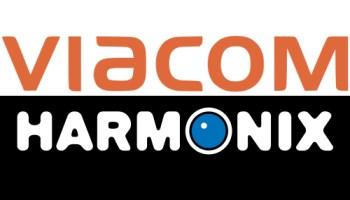 Viacom/Harmonix combined logos