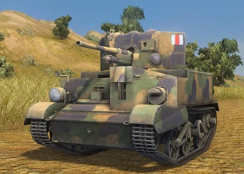 World of Tanks screen