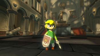 Legend of Zelda Wind Waker HD screen