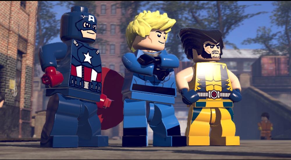 LEGO Marvel Super Heroes screen 11