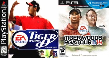 Tiger Woods covers