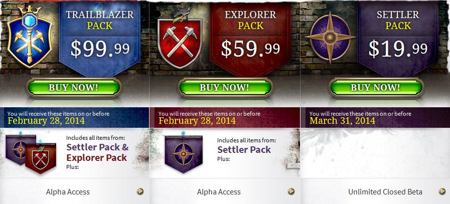 EverQuest Landmark Founder's Packs