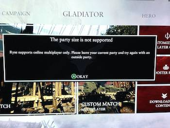 xbox one party chat error