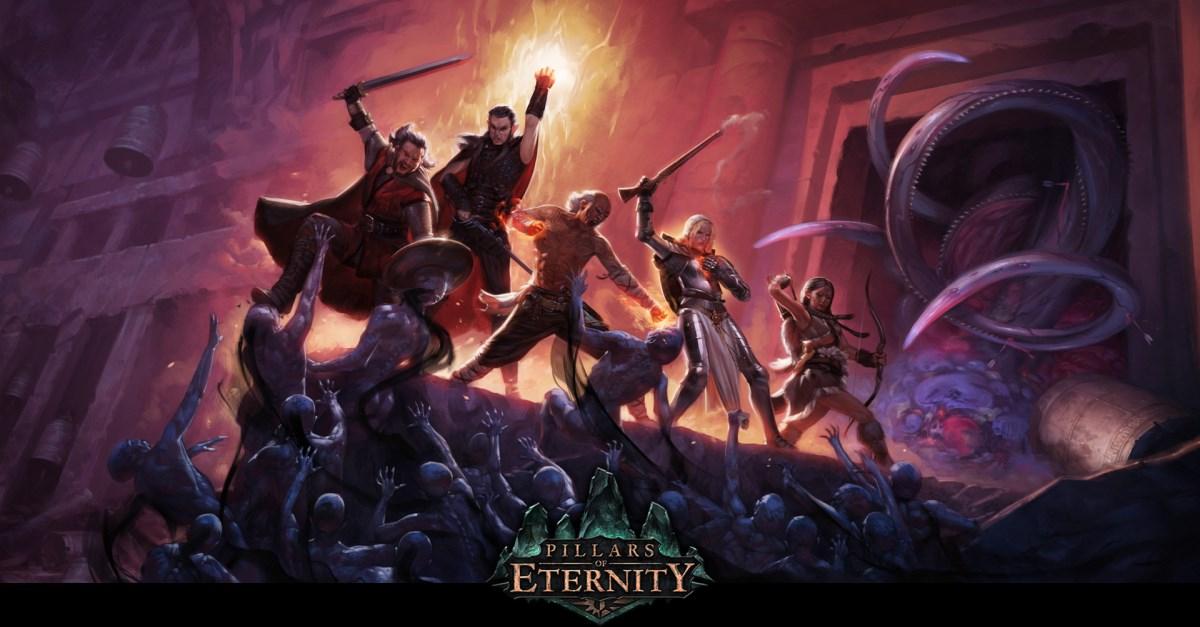 Pillars of Eternity title art