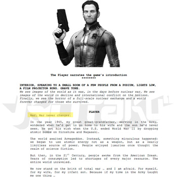Fallout 4 - Main - Leaked Documents