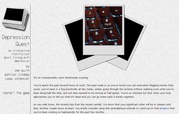 Depression Quest screenshot