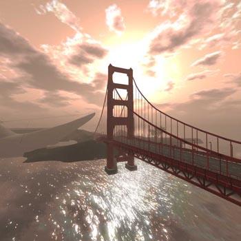 Critical Proximity Second Life golden gate bridge