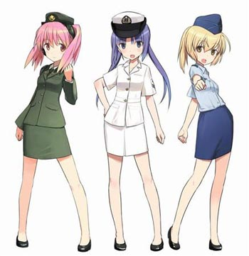 Japan Self Defense Force Anime Mascots