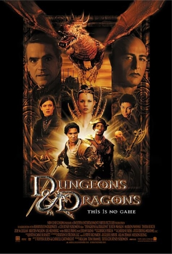 Dungeons and Dragons Movie Poster 2000