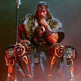 Conan the Barbarian Throne