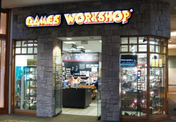 games workshop store