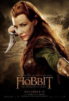 The Hobbit Evangeline Lilly poster