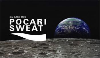 pocari sweat on the moon