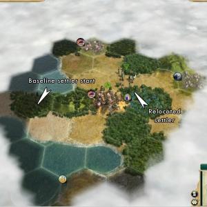 never move settler first turn