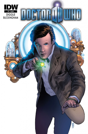 Doctor Who Comic Cover IDW