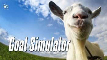 Goat Simulator title screen