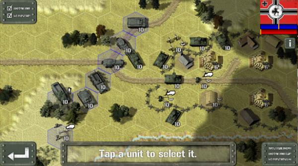 Tank Battle: East Front 1941 screen