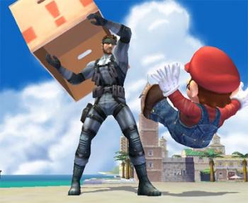 solid snake super smash bros brawl