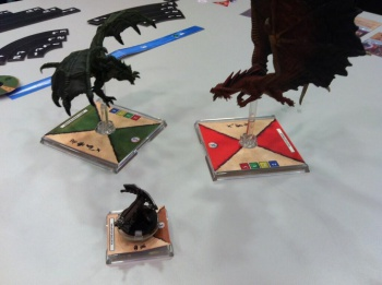 Dungeons and Dragons Attack Wing Models