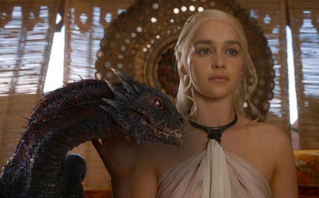 DaenerysWithDragon
