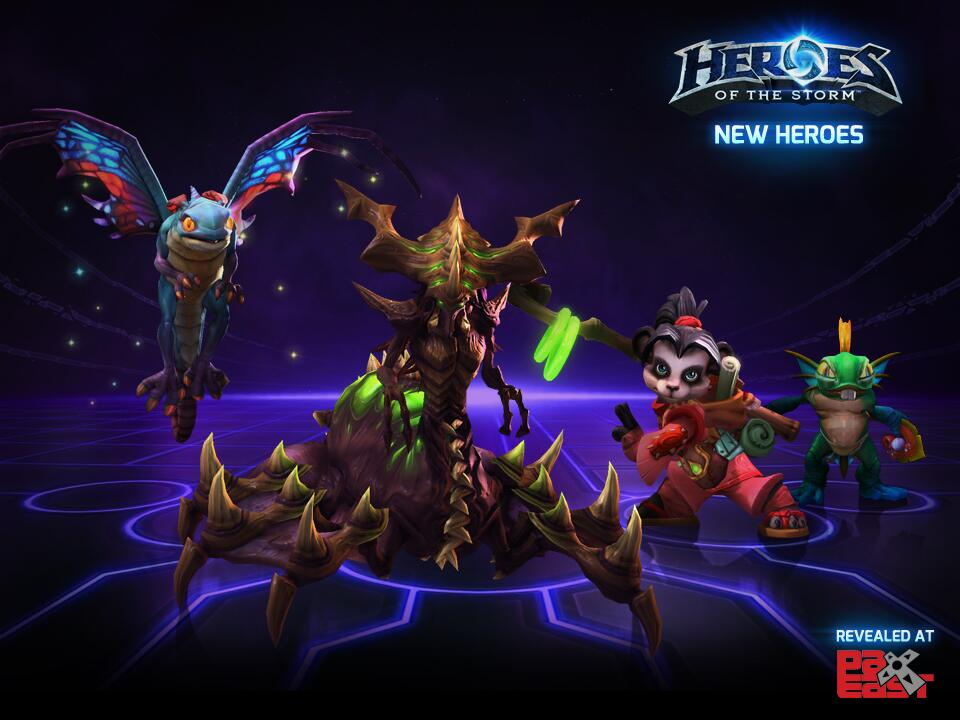 Heroes of the Storm new heores