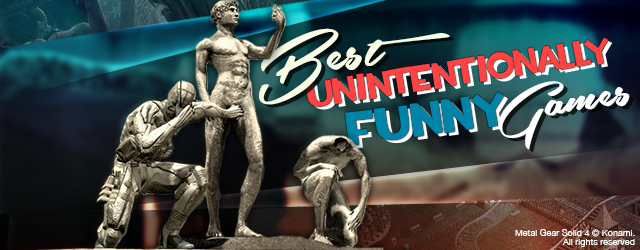 Best Unintentionally Funny Video Games