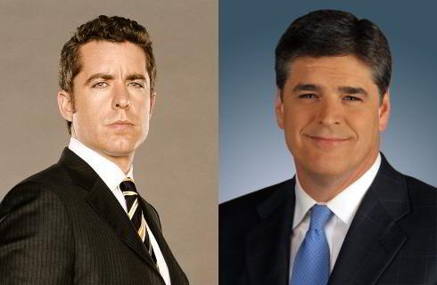 Jason Jones and Sean Hannity